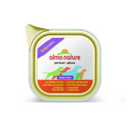 Almo Nature Daily Menu Adult Dog Veal & Carrots