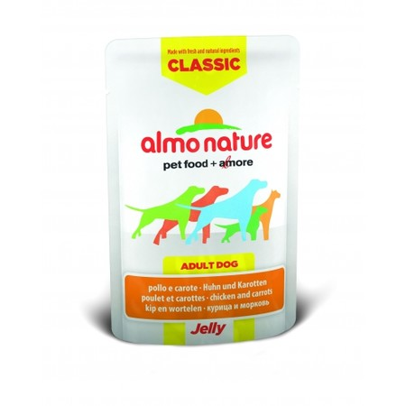 Almo Nature Classic Adult Dog Chicken & Carrots Jelly