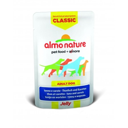 Almo Nature Classic Adult Dog Tuna & Carrots Jelly