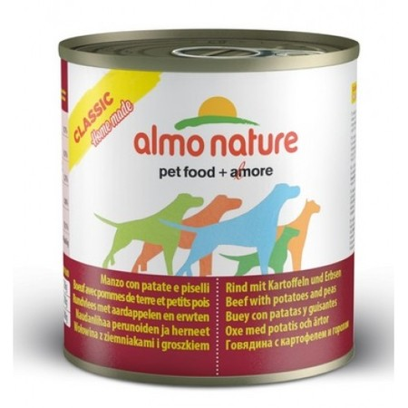 Almo Nature Home Made Adult Dog Beef with Potatoes and Peas 280 г х 12 шт