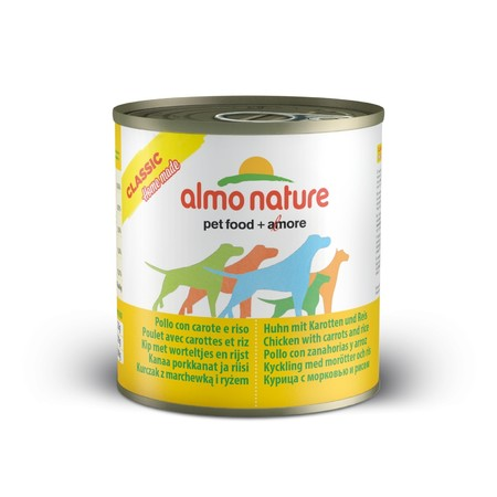 Almo Nature Home Made Adult Dog Chicken with Carrots and Rice 280 г х 12 шт