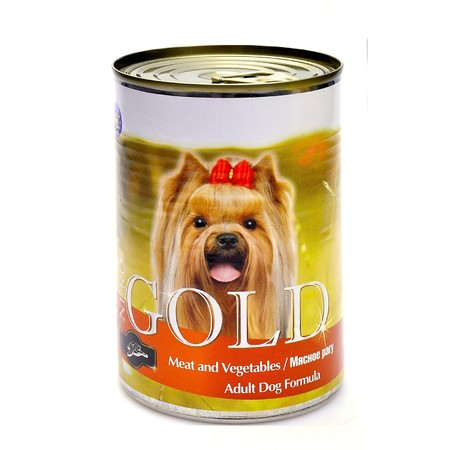 Nero Gold Adult Dog Formula Meat & Vegetables 1