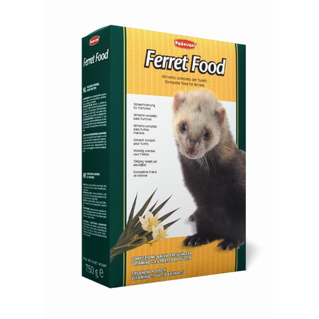 Корм Padovan Ferret Food для хорьков комплексный основной - 750 г