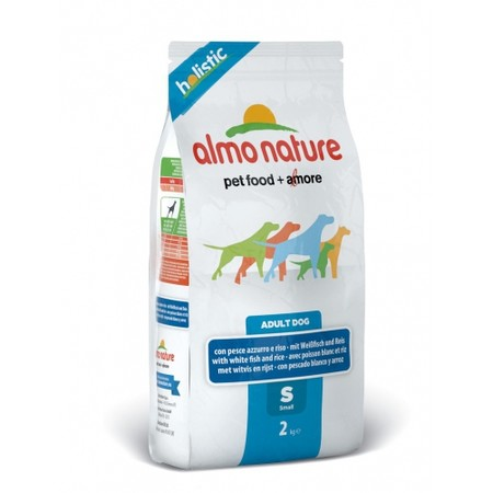Almo Nature Holistic Adult Dog Small & White Fish 2 кг