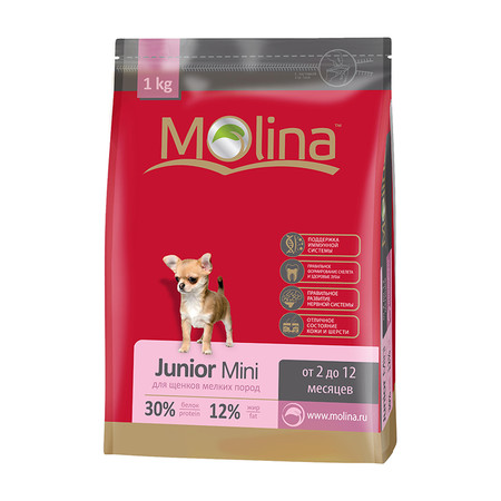 Сухой корм Molina «Junior Mini» - 1 кг