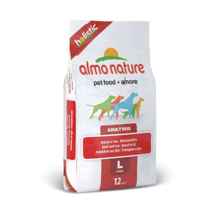 Almo Nature Holistic Adult Dog Large Beef & Rice 12 кг