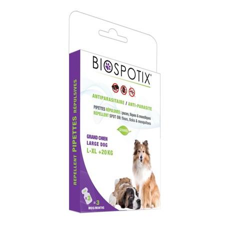 Biospotix XL Dog Spot капли от блох для собак крупных и гигантских пород on 3 пипетки по 3 мл