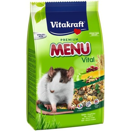 Vitakraft Menu корм для крыс 400 г