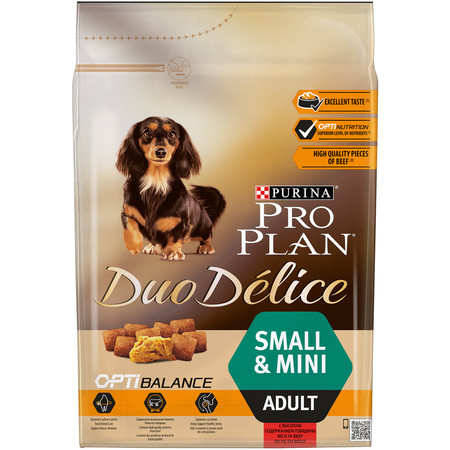 Purina Pro Plan Duo Delice Small & Mini Adult Beef with Rice - 2